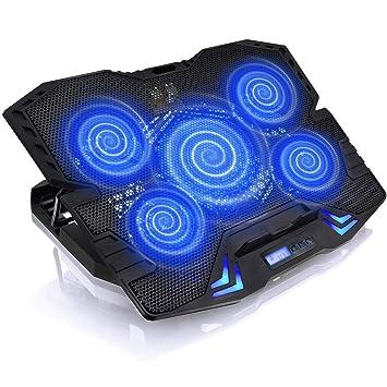 HWZDQLK Enfriador for computadora portátil de 17 pulgadas ...