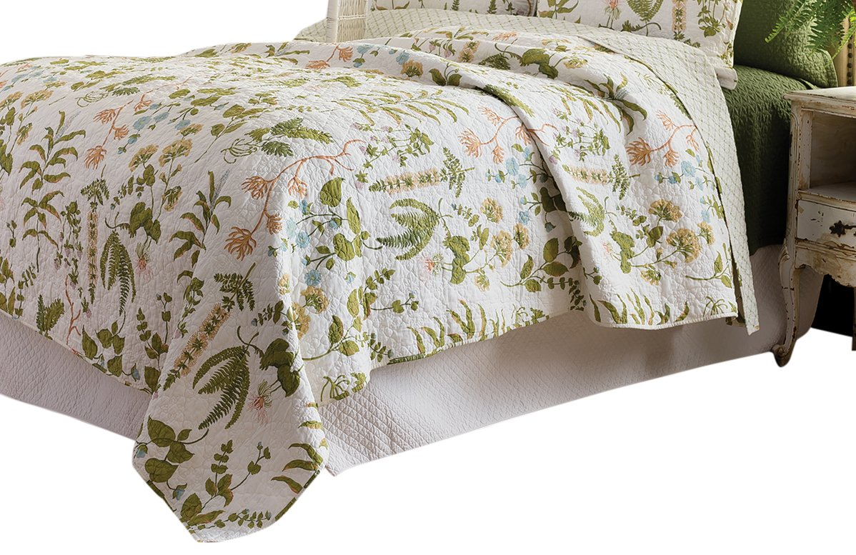 C&F Home Anessa Quilt, King, Green by C&F Home