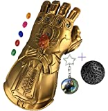 Yacn Infinity Gauntlet Thanos Glove LED with Separable Magnetic Infinity Stones