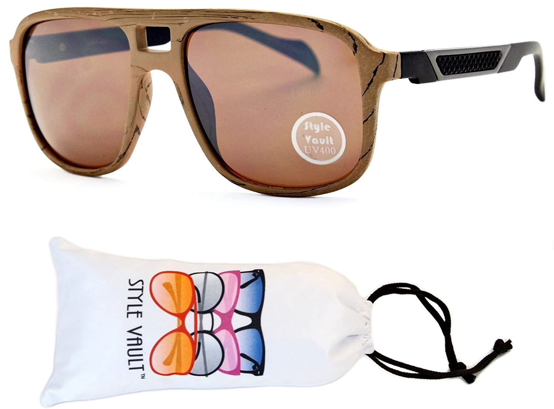 A07-vp Aviator Retro Millionaire Sunglasses