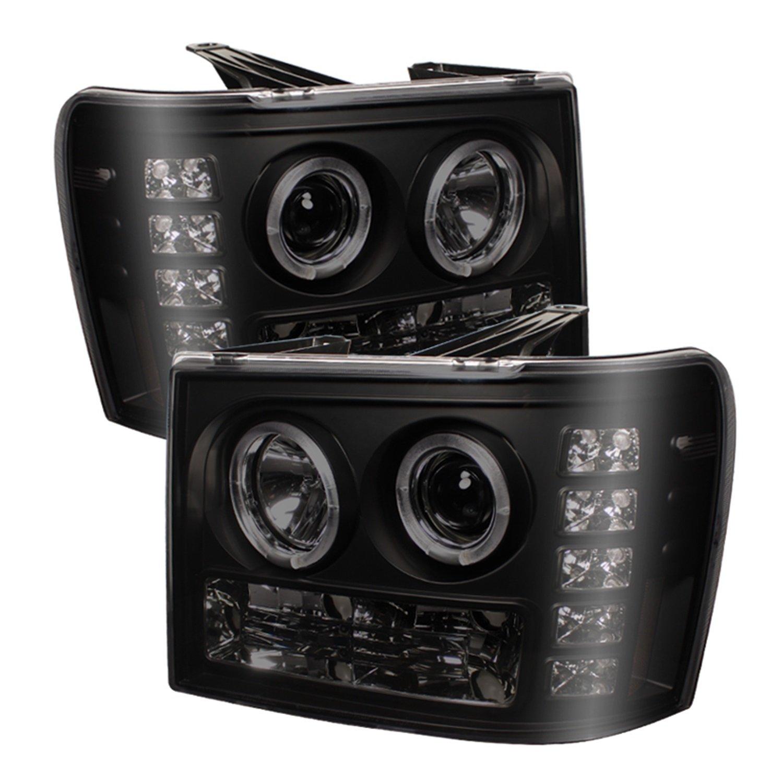 Amazon.com: Spyder Auto GMC Sierra 1500/2500/3500, GMC Sierra Denali Black  Halogen Projector Headlight: Automotive