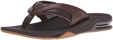 3510e71931a7 Amazon.com  Reef Men s Leather Fanning Lux Sandal  Shoes