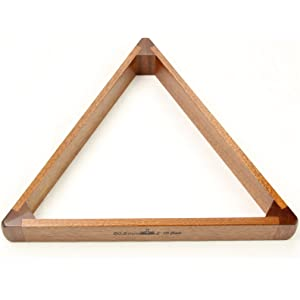 Natural 57 mm POWERGLIDE Triangle Unisex Wooden 2 inch 1//4