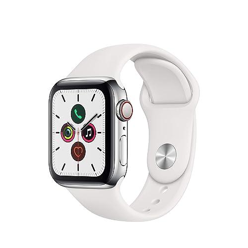 Apple Watch Series 5 40mm ステンレスxスポーツバンド