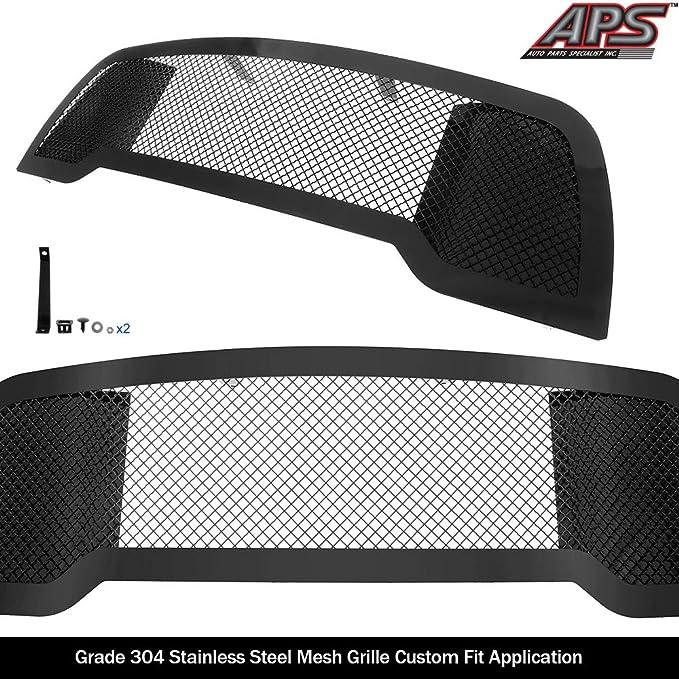 APS Compatible with 2013-2018 Ram 2500 3500 Upper Black Mesh Grille Insert D76330K