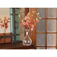 Yedifil Küçük Kuru Yaprak Yapay Çiçek 45 cm - Turuncu