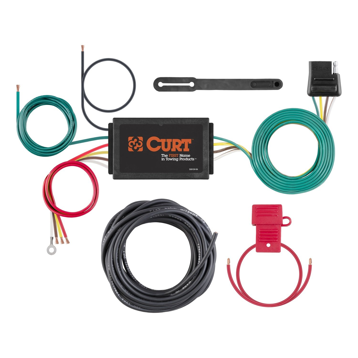Curt 59190 Converter and Wiring Kit