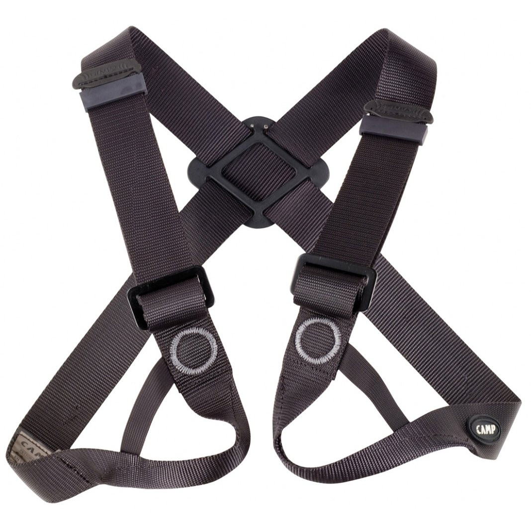 CAMP Figure 8 Chest Climbing Harness - Black