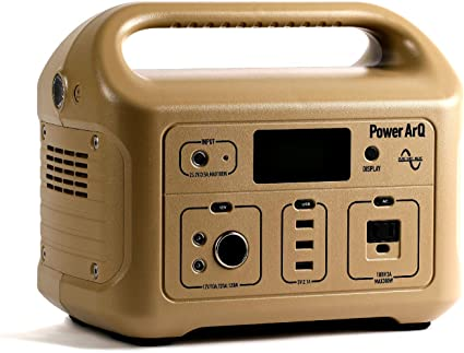 SmartTap ポータブル電源 PowerArQ コヨーテ タン (626Wh/174,000mAh/3.6V/正弦波 100V 日本仕様) 正規保証2年 008601C-JPN-FS-TN