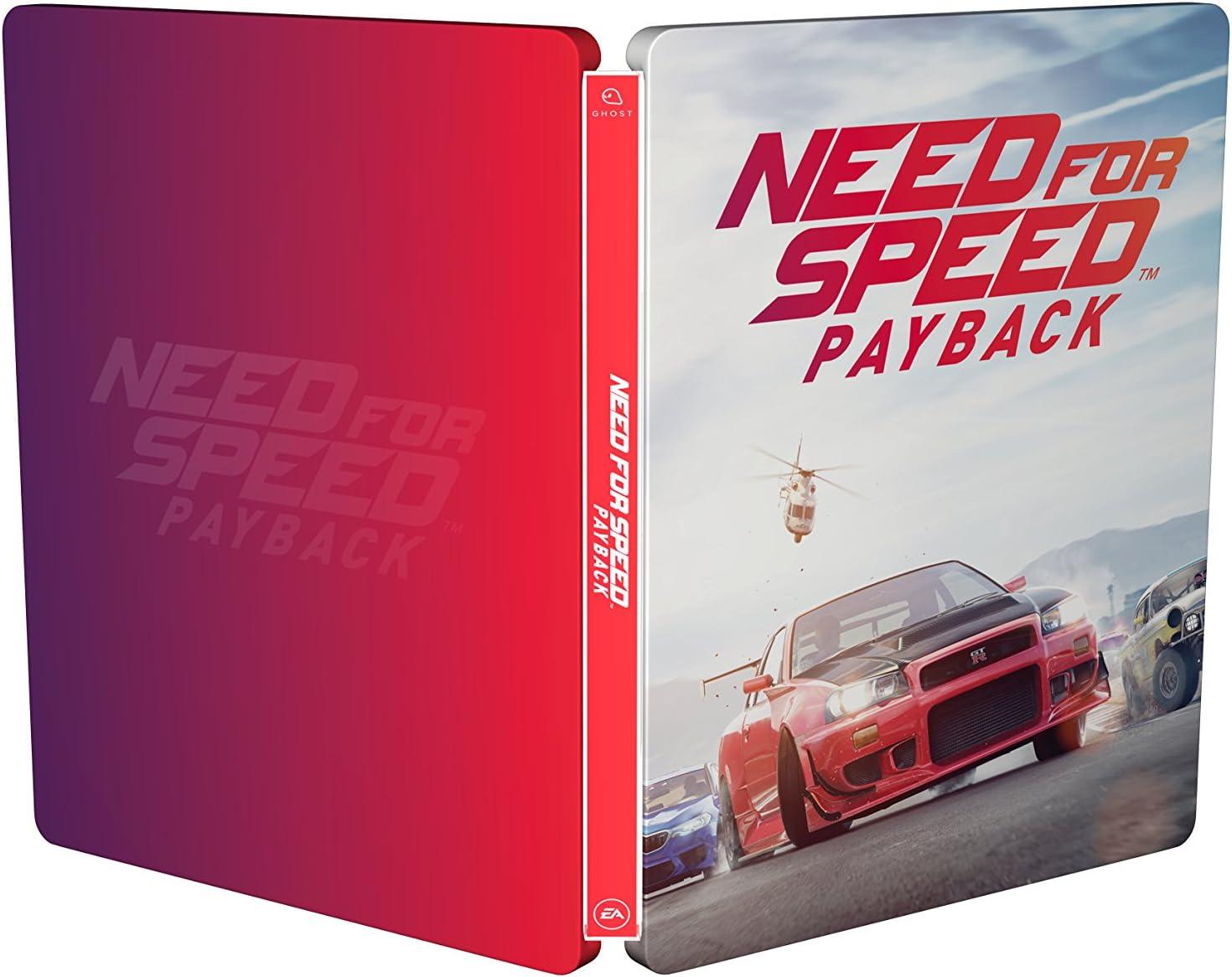 Need for Speed - Payback - Steelbook (exkl. bei Amazon.de) - [enthält kein Game] [Importación alemana]: Amazon.es: Videojuegos