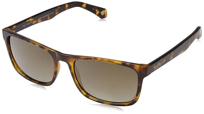 Ted Baker Lowe Gafas de sol, Marrón (Dark Tort), 57 para ...