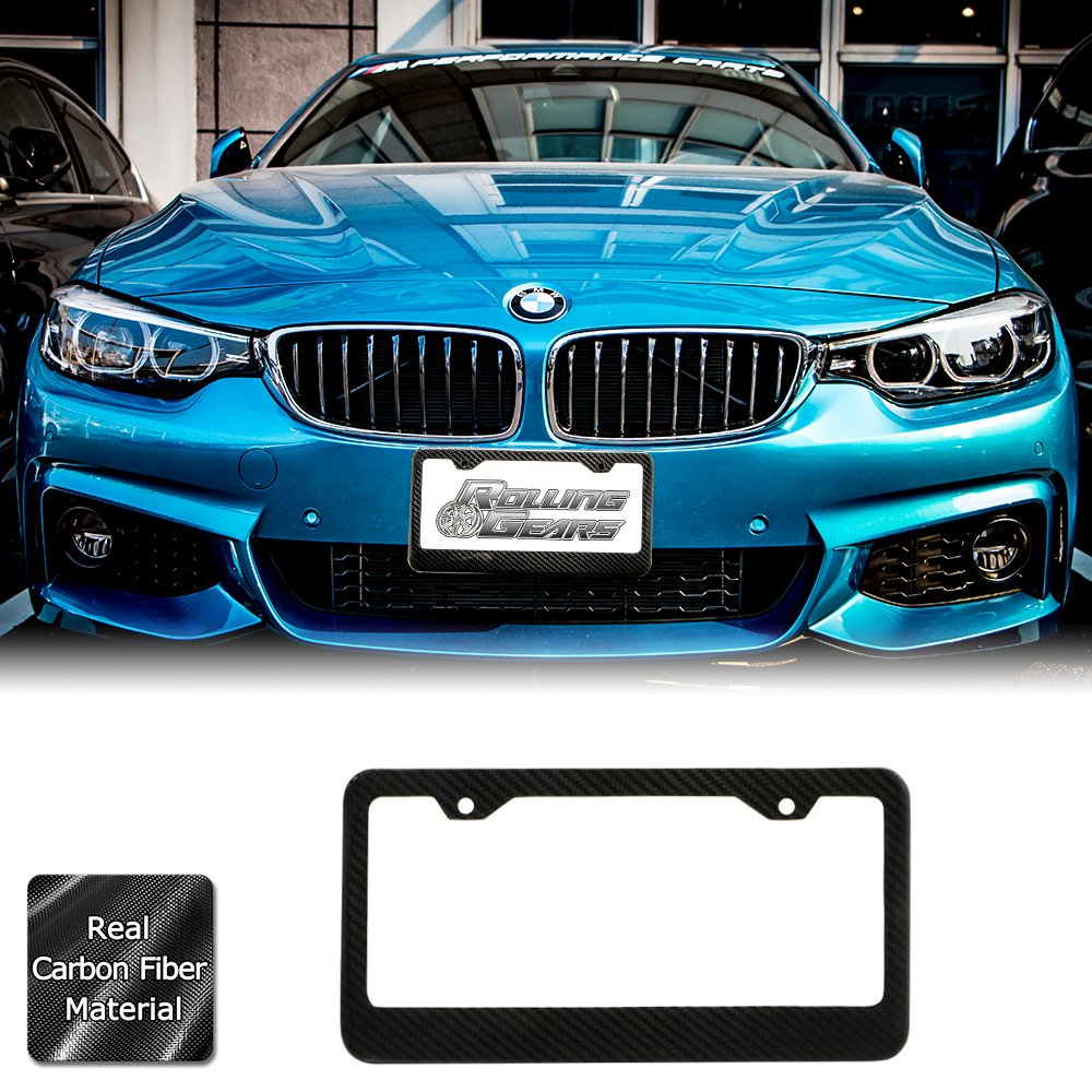 Humor Funny Car Tag Frame License Plate Cover Holder for US Standard 2 Holes and Screws URCustomPro Stainless Steel License Plate Frame