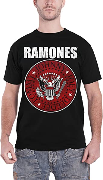 Ramones /'Presidential Seal Distressed/' T-Shirt NEW /& OFFICIAL!