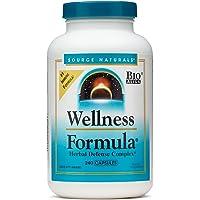 Source Naturals Wellness Formula Bio-Aligned Vitamins & Herbal Defense - Immune System Support Supplement & Immunity Booster - 240 Count
