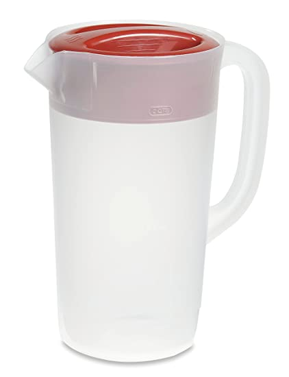 Amazon.com: Rubbermaid, jarra transparente, Rojo de carreras ...