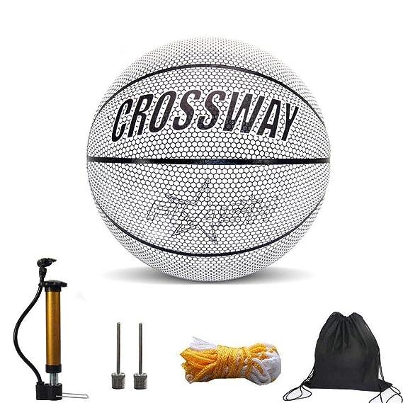 CHRISTY HARRELL Balón de Baloncesto de Navidad Artificial, Brilla ...