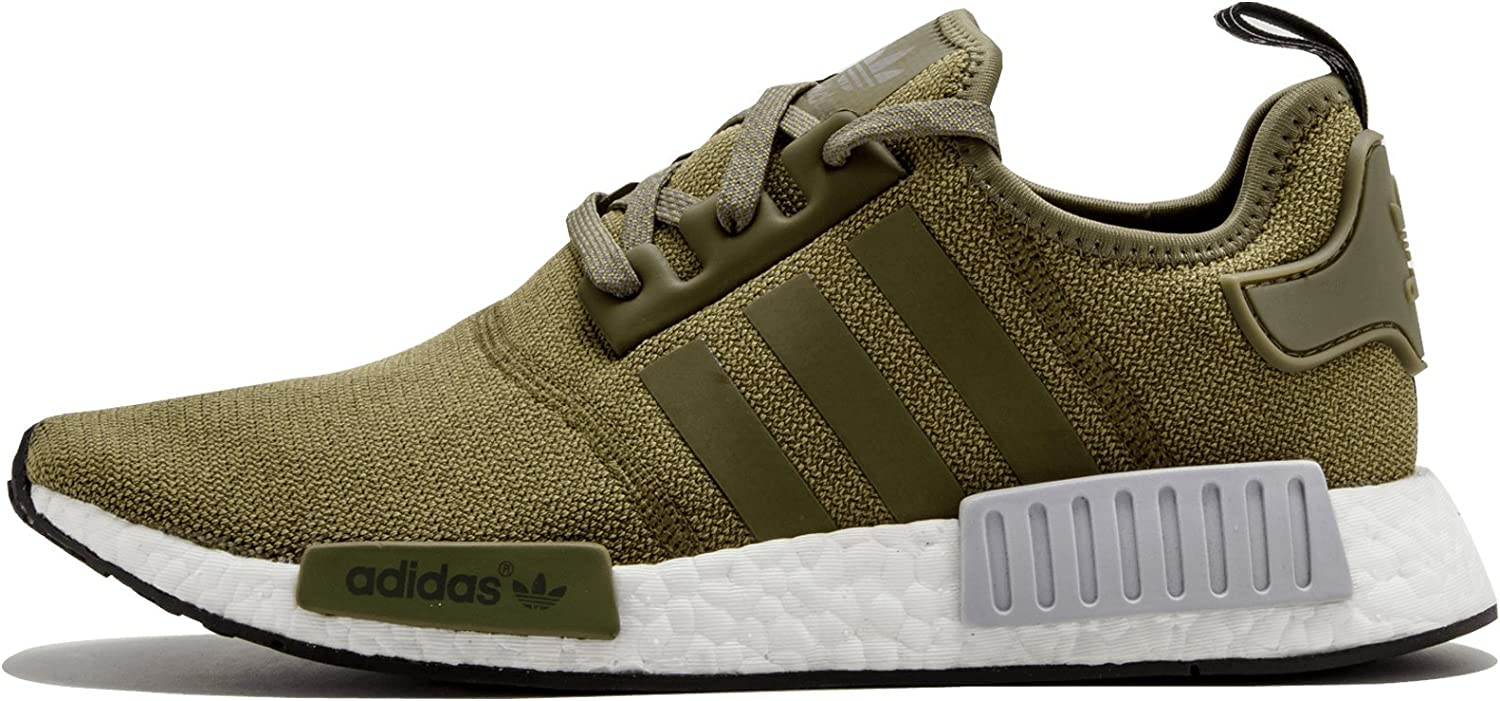combattere abbaiare Accidentale  Amazon.com | adidas NMD R1 Olive BB2790 Mens sz 8 US | Fashion Sneakers