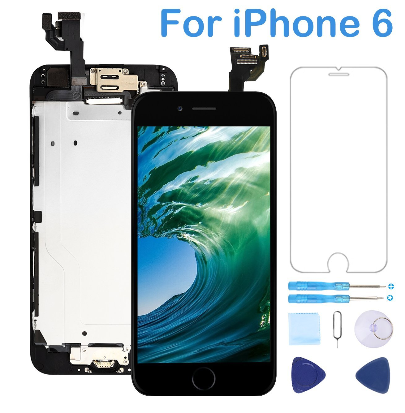 the best attitude 422a4 44db0 Top 3 iphone 6 screen replacement youtube