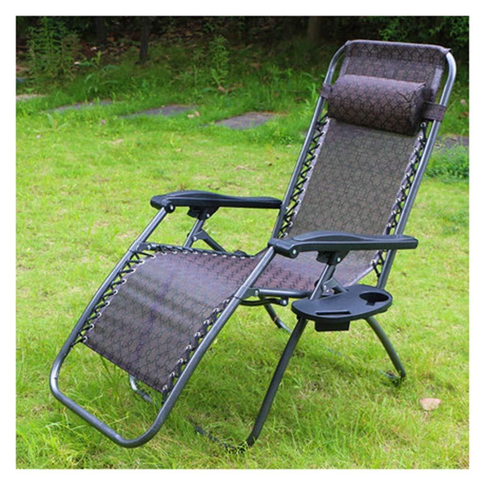 JDGK ファッション通販 - ラウンジチェア 新色 8974 ラウンジチェア昼休み折りたたみ椅子多機能肥厚大型耐荷重夏チェアホームレジャーポータブル B07T2G5D87