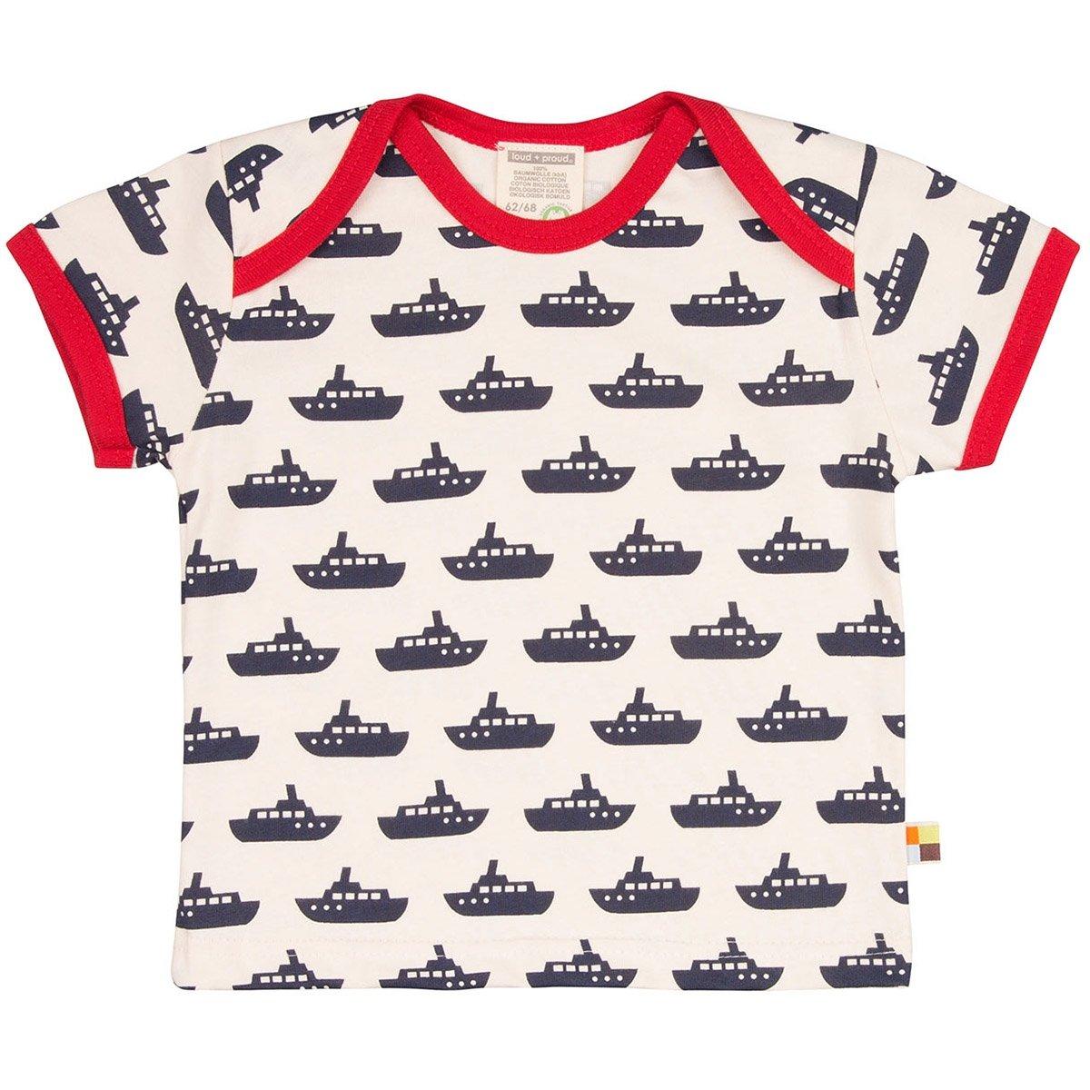 loud + proud T-Shirt, Druck, Unisex-Bimbi
