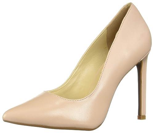 ahorrar super especiales super servicio Westies WERADZINER NUDE zapatos de tacón para mujer, color beige