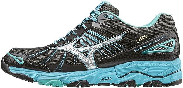 Mizuno Wave Mujin 3 G-TX (W), Zapatillas de Running para Asfalto para Mujer, Negro: Amazon.es: Zapatos y complementos