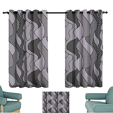 Amazon Com Gothic Boys Bedroom Backout Curtains Abstract