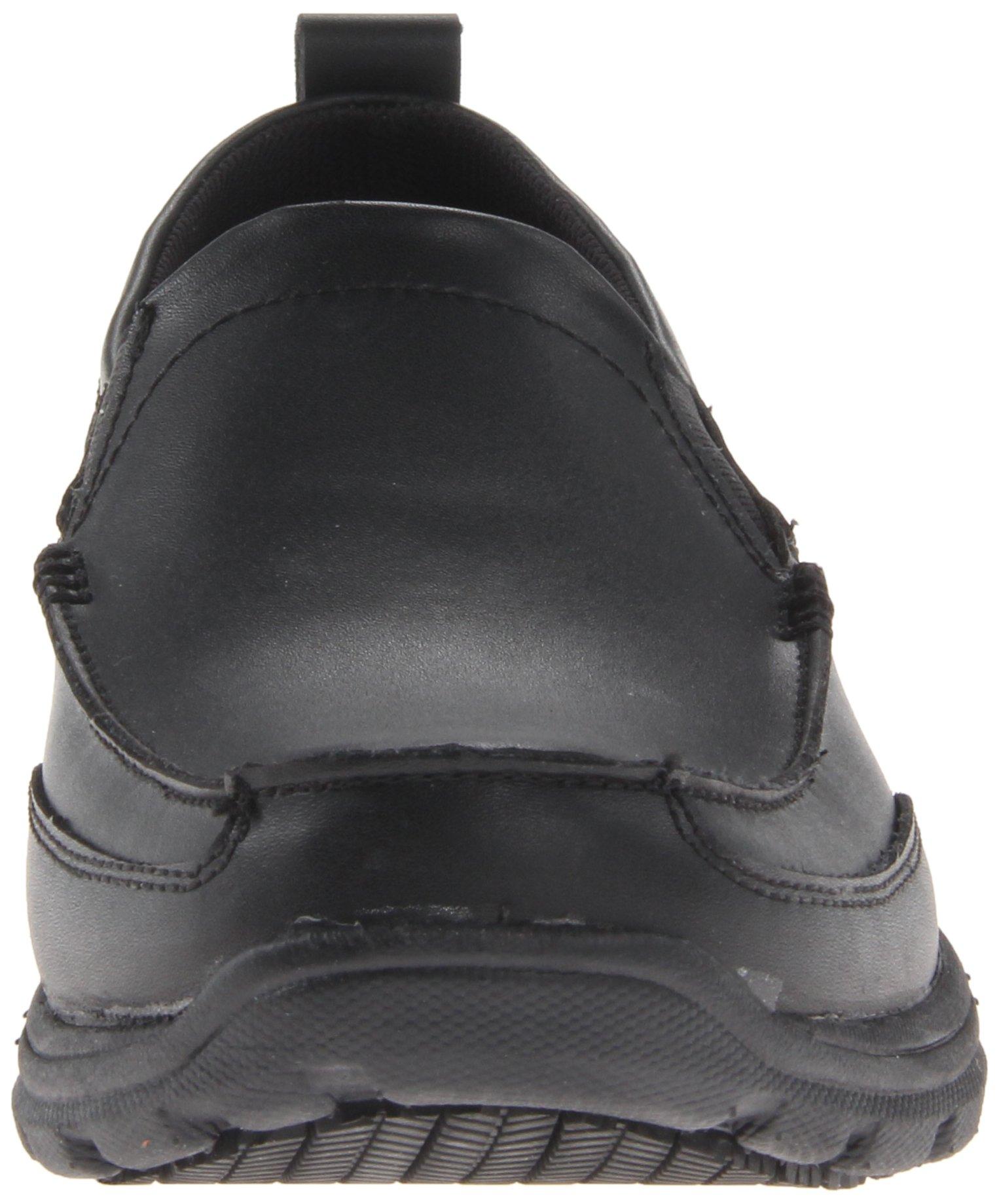 Skechers for Work Men's Hobbes Relaxed Fit Slip Resistant Work Shoe, Black, 11.5 M US by Skechers (Image #4)