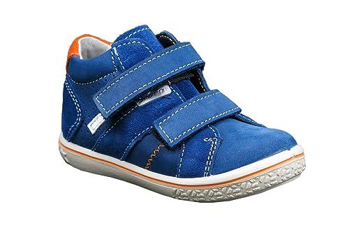1158e80a3 Ricosta Laif - Zapatillas Deportivas Altas de Piel niño  Amazon.es  Zapatos  y complementos