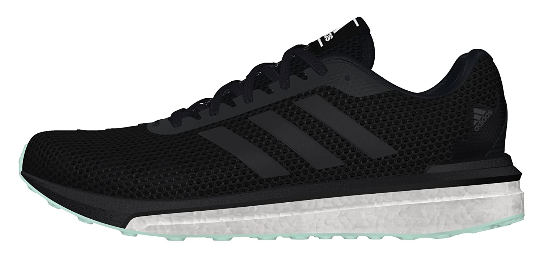 adidas Vengeful W, Chaussures de Running Mixte Adulte, Noir-Negro (Negbas/Negbas/Verhie), 44 2/3 EU