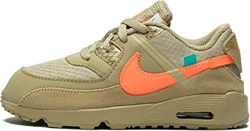 Nike Air Max 90 BT off White The Ten Sneaker, (Desert Ore