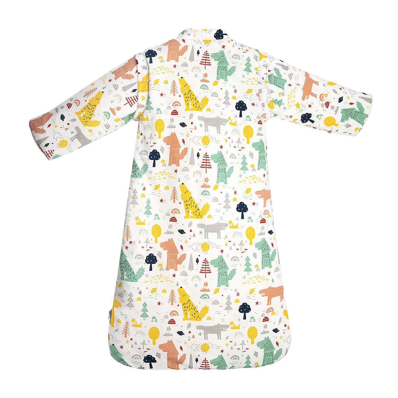 S//3-6Monate, Gr/ünerwald Baby Winter schlafsack Kinder schlafsack 3.5 Tog Schlafsaecke aus Bio Baumwolle Verschiedene Groessen von Geburt bis 4 Jahre alt