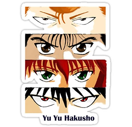 Anime trash srbb1611 yuyu hakusho car window decal sticker large6 1quot