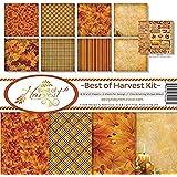 Reminisce BOH-200 Scrapbook Best of Harvest Collection Kit