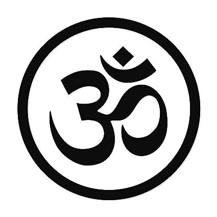 Om Symbol w/ Circle Namaste PREMIUM Decal 5