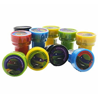 Ninja Turtles Stampers Party Favors (20 Stampers): Toys & Games