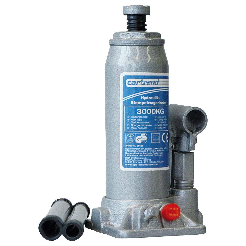 Cartrend 50166 Cric idraulico 3 t