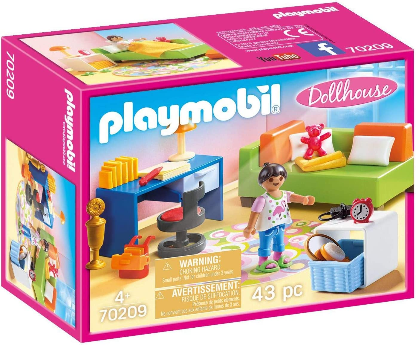 PLAYMOBIL Teenager's Room Furniture Pack