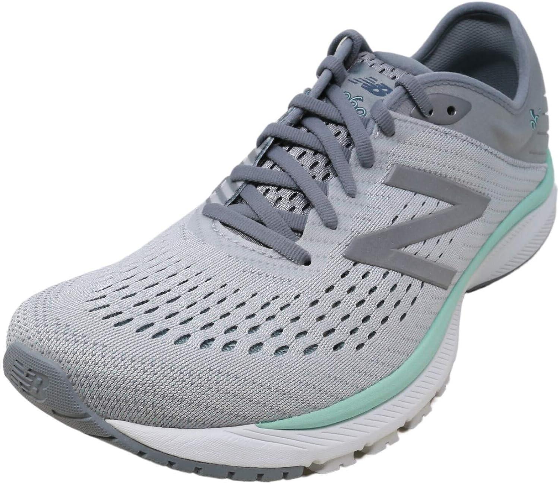 New Balance 860 V10 - Gris (ancho), Gris (Acero / aluminio ligero / arrecife ligero.), 36.5 EU: Amazon.es: Zapatos y complementos