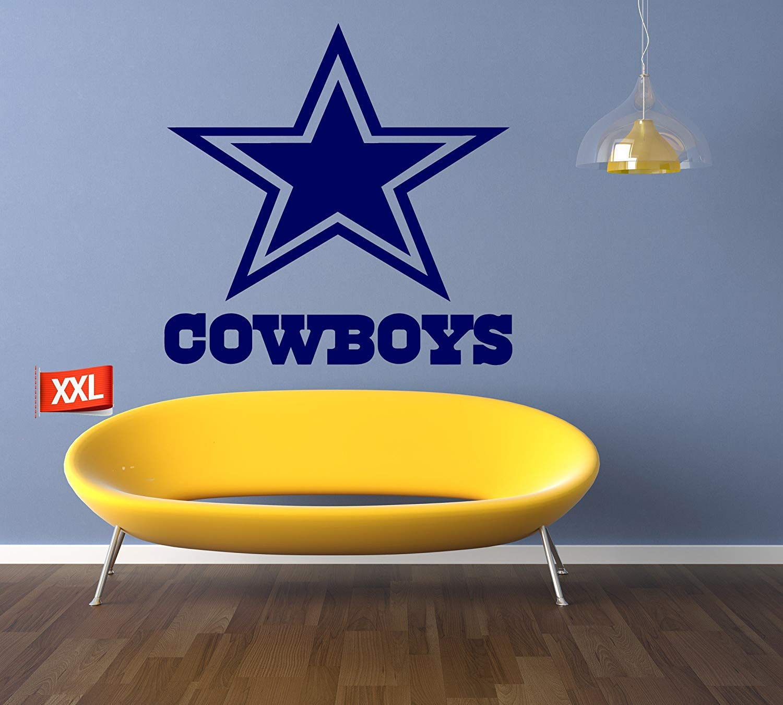 PillowFigtArt Dallas Cowboys Sticker, Dallas Cowboys Wall Decal, Dallas Cowboys Decal,Dallas Cowboys Logo Decal, NFL Logo Decal, Dallas Cowboys, Dallas Cowboys Large Decal pf28 (46'' x 46'') by PillowFigtArt