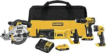 DeWalt DCK423D2 20V 4 Tool Combo Kit