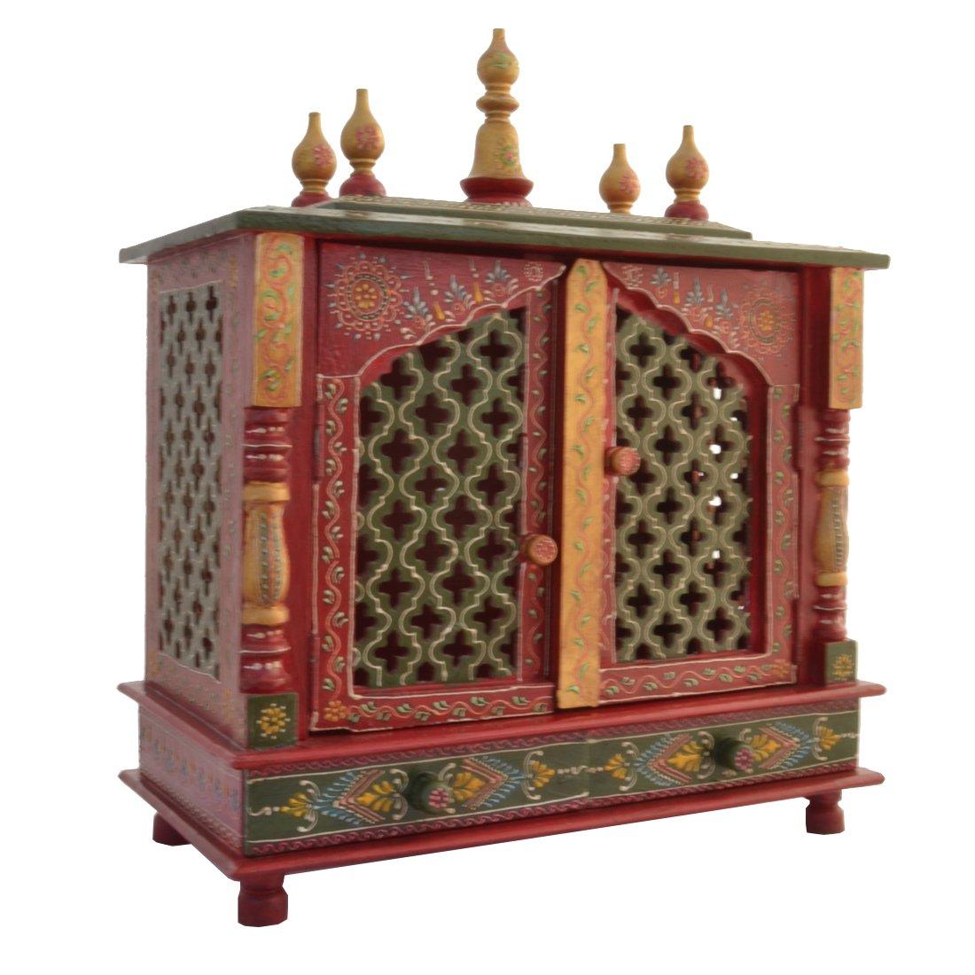 buy wooden temple home temple pooja mandir pooja mandap temple