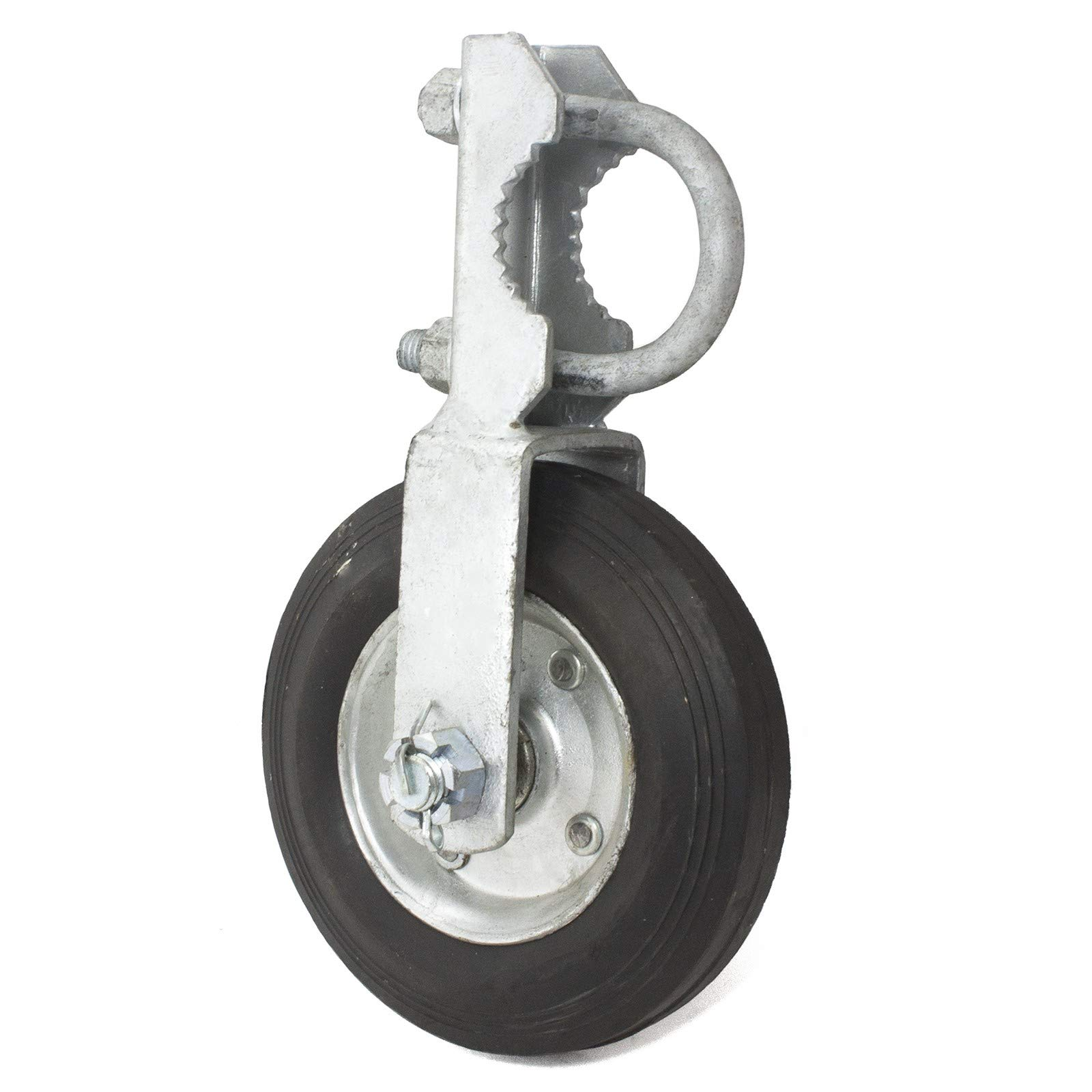 GATE HELPER WHEEL: for Chain Link Fence and other Swing Gates with 1.5-2'' Frames