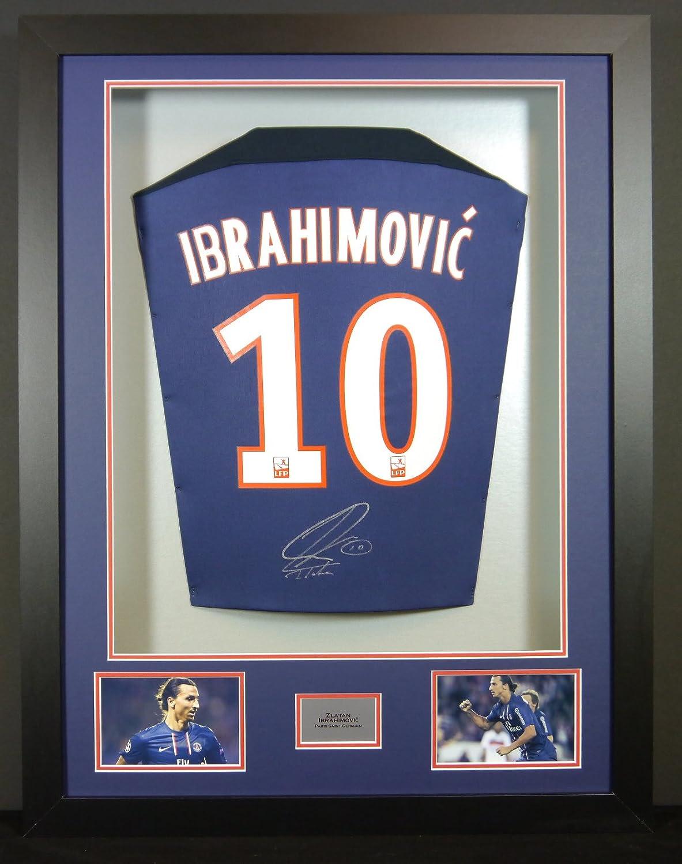 Zlatan Ibrahimovic Paris St Germain Signed Shirt 3D Framed Display with  COA  Amazon.co.uk  Sports   Outdoors 9cf8c8907