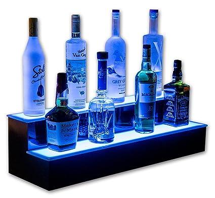 Amazon Com Customized Designs 30 2 Step Led Lighted Home Bar
