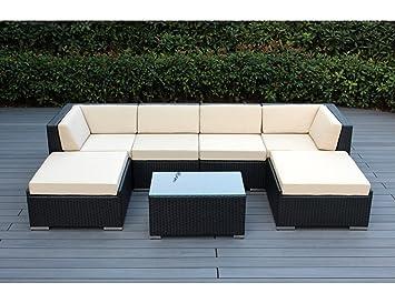 Auténtica de Ohana exterior Patio sofá seccional Muebles de ...