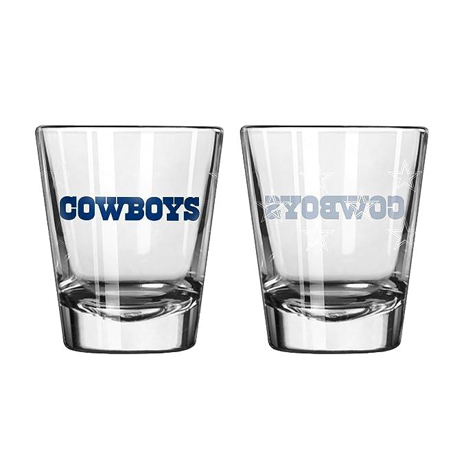 Amazon.com: Shot Copa de Vidrio (Set de 2) NFL Equipo: NFL ...