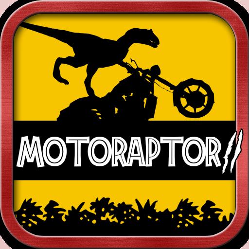 MotoRaptor 2 - Velociraptor Moto Racer - Jurassic Dinosaur Rider Jungle ()