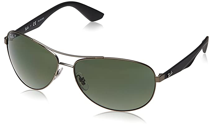 5d1b183020 Image Unavailable. Image not available for. Colour  Ray-Ban Oversized  Sunglasses (Gunmetal)(RB3526