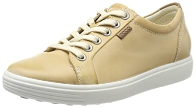 Ecco Damen Soft 7 Ladies Slip on Sneaker, Beige (Powder), 37 EU
